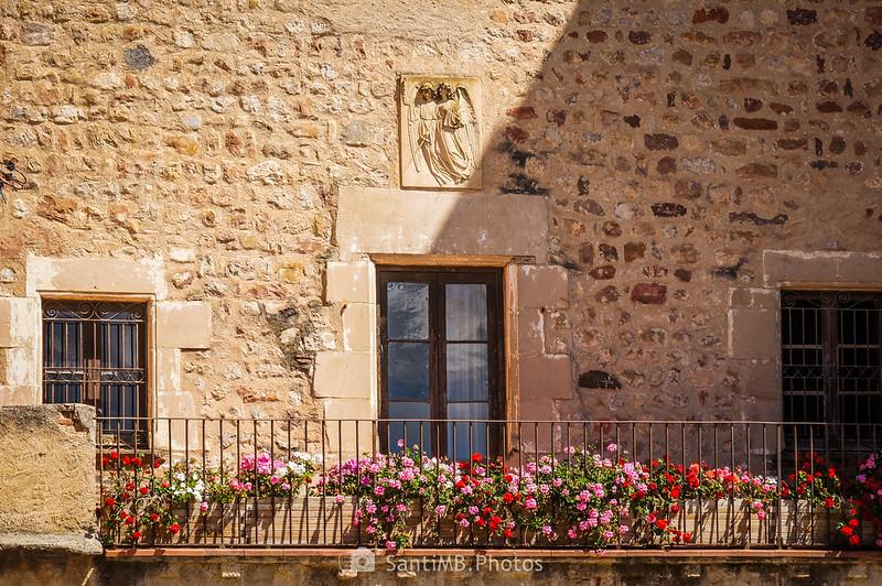 Balcón de la Torre d'en Malla en Gallecs