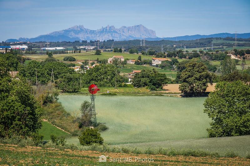 Montserrat desde el Camí de la Torre d'en Malla