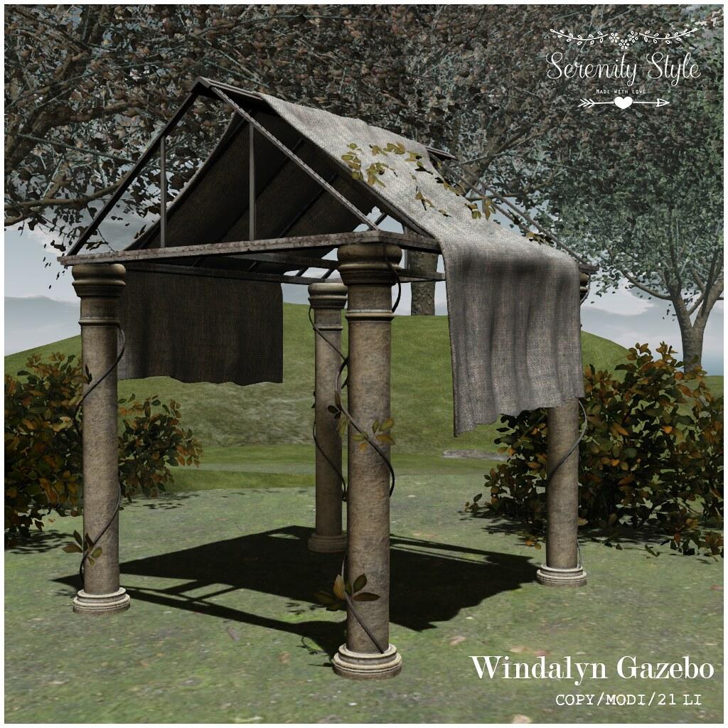 Serenity Style- Windalyn Gazebo