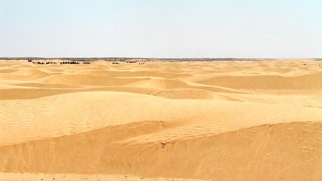 El desierto de Tunez