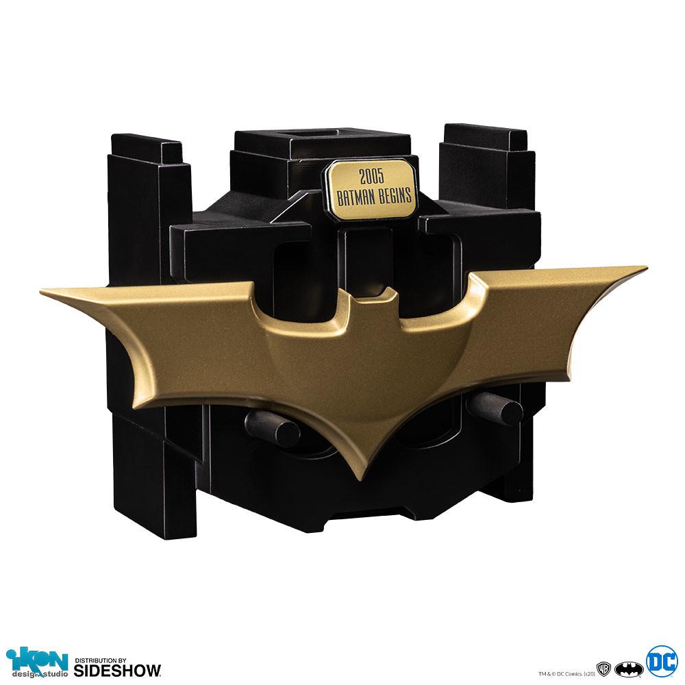 Ikon Design Studio《蝙蝠俠:開戰時刻》金屬蝙蝠飛鏢 Metal Batarang 1:1 比例道具複製品