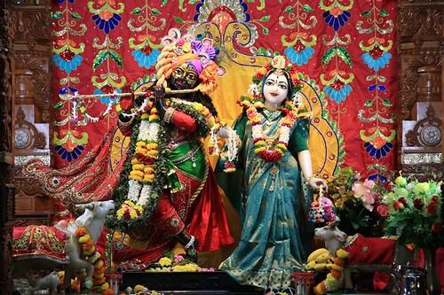 ISKCON Nigdi Deity Darshan 25 Sep 2019