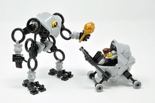 D-A-Dee Bot & B-A-Bee Bot