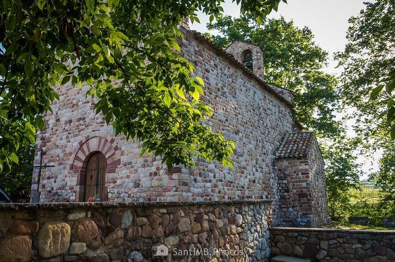 Iglesia románica de Santa Maria de Gallecs