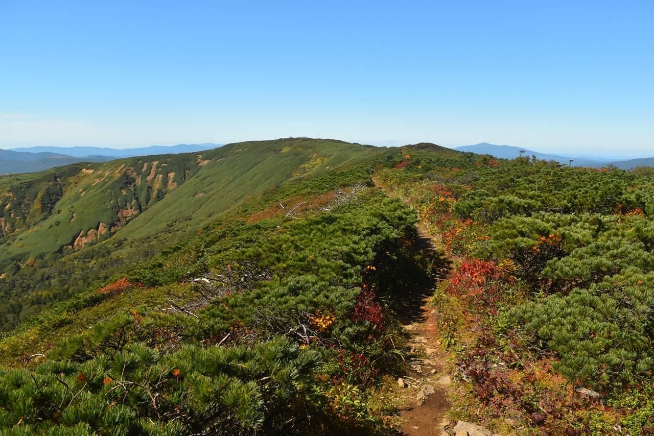 裏岩手連峰縦走コース 広大な稜線登山