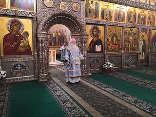 25.09.2019   Литургия и лития в Иверском монастыре