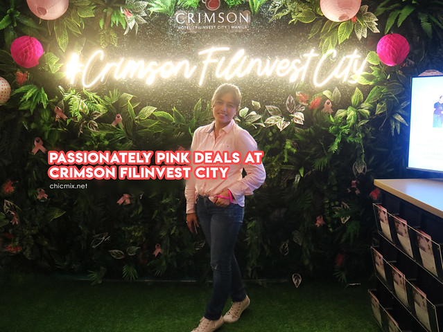 Passionatey Pink Love, sale and deals over at Crimson Hotel Filinvest and Stage Zero