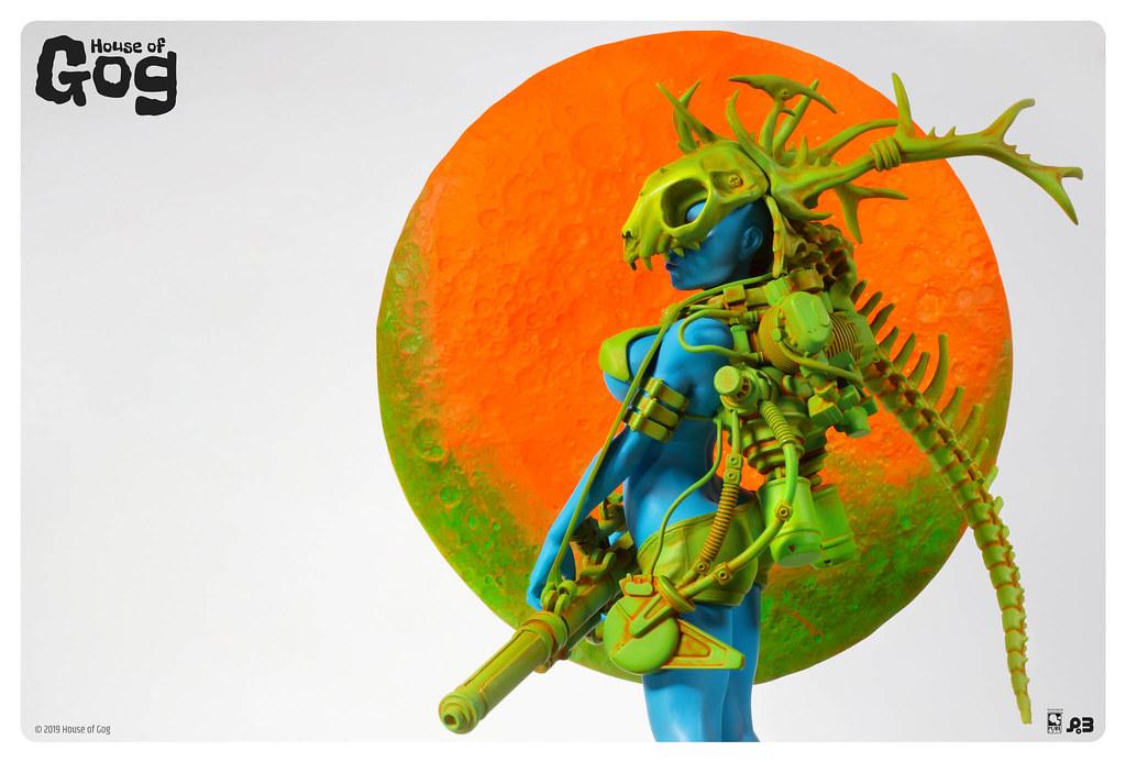 令人陶醉的蒸汽龐克風格! House of Gog 推出由 Pascal Blanché 所設計的「Moonstone」立體雕像作品!
