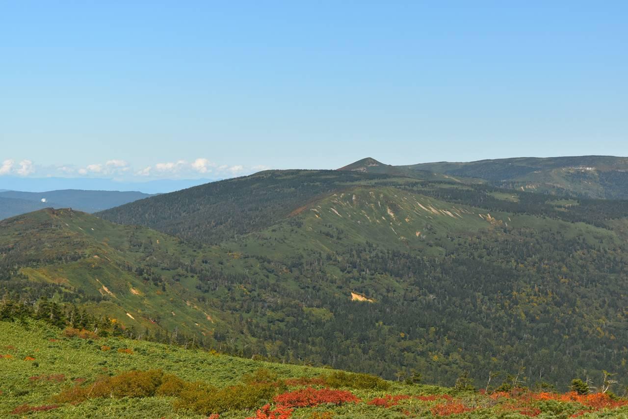 八幡平方面の裏岩手連峰縦走コース