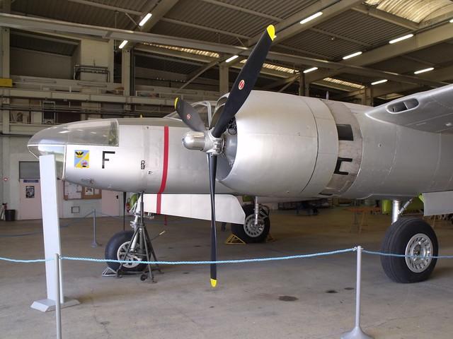 Douglas A-26 Invader, dans les réserves du Musée de l'Air et de l'Espace.