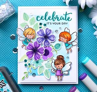 Fairies & Flowers