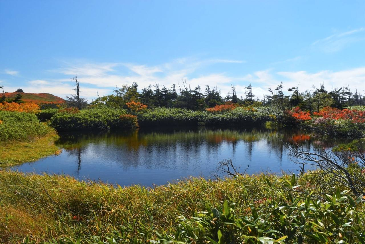 三ツ石山 三ッ沼の紅葉