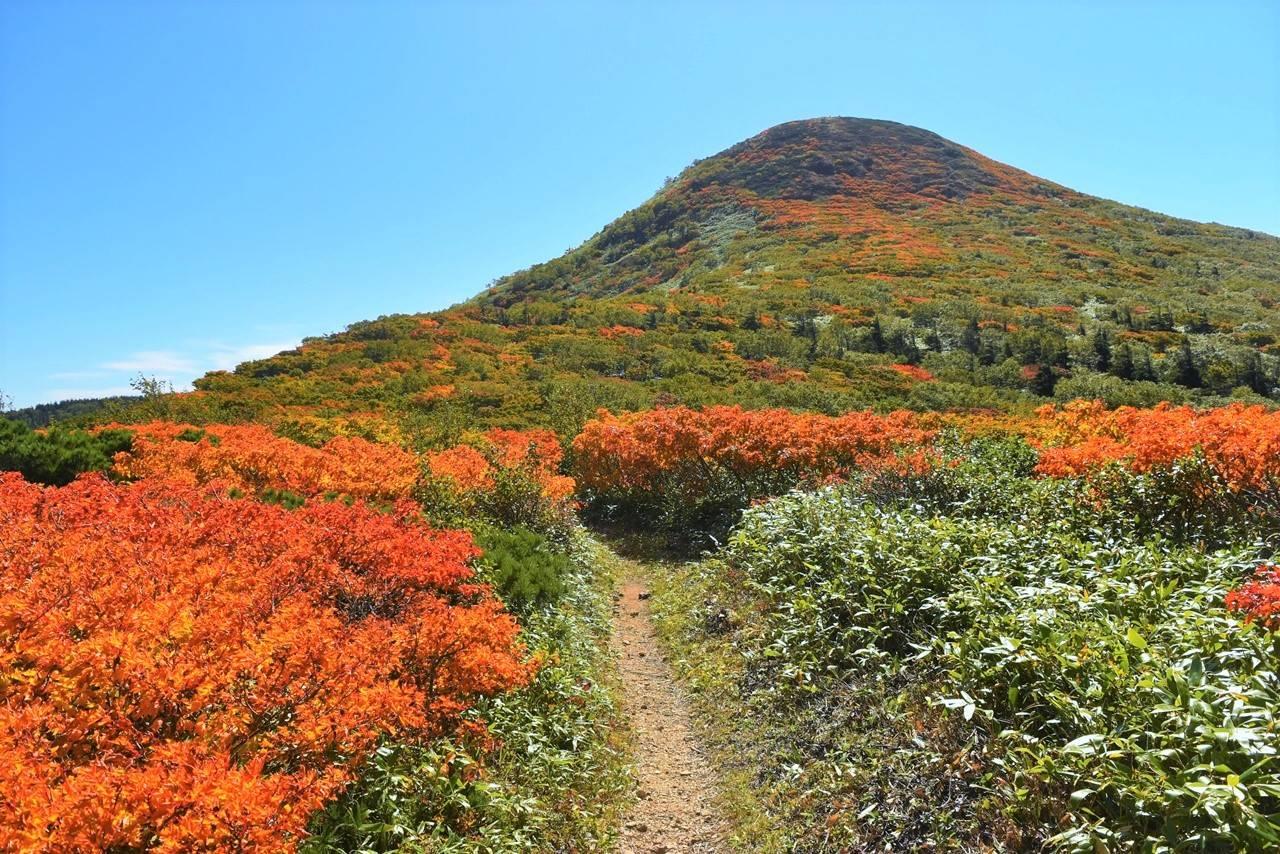 源太ヶ岳~小畚山~三ツ石山 紅葉登山