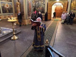 25.09.2019 | Литургия и лития в Иверском монастыре