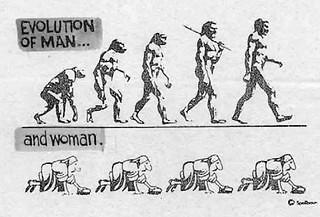 evoluzione dell'uomo e della donna