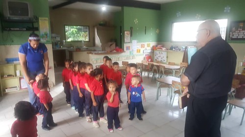 In the preschool.