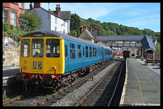 No M50454 & No M50528 14th Sept 2019 Llangollen Railway Railcar Gala