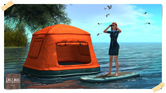 Floating Tent & Paddle Board CHEZ MOI