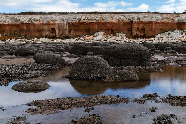 Hunstanto cliffs