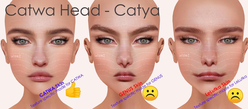 BOM testing - Catwa HEAD *Catya*