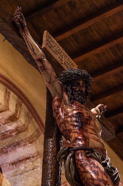 Cristo de la Universidad de Miñarro, Cordoba.