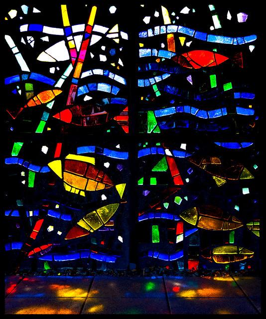 Mosaik im Gegenlicht - Mosaic against a sunny backlight