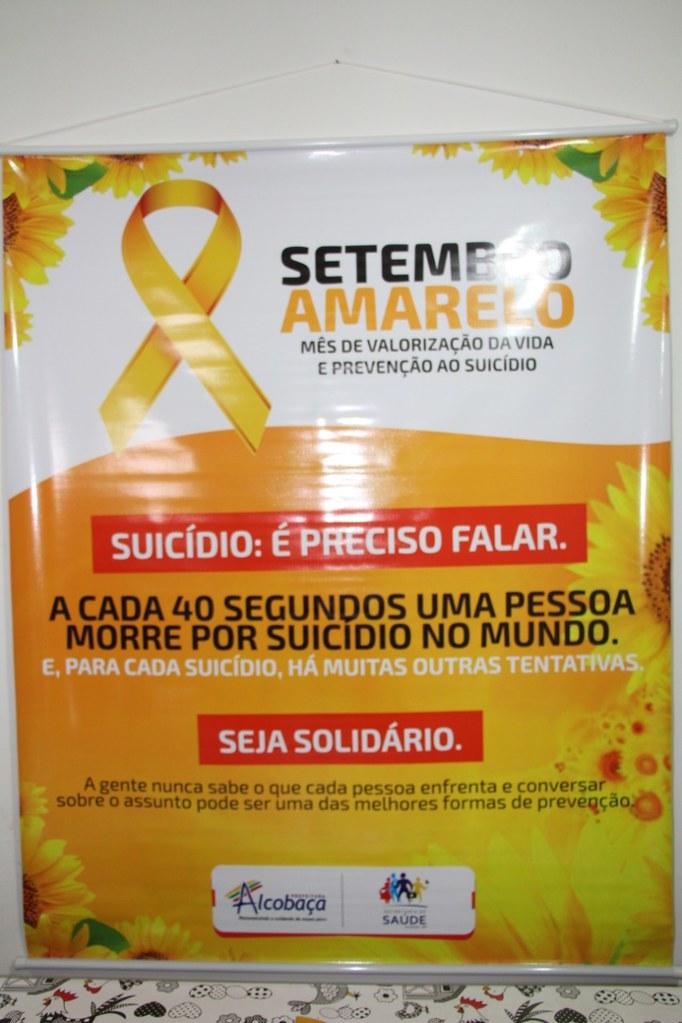 Campanha Setembro Amarelo em Alcobaça (1)