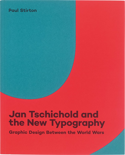 Cover of Jan Tschichold and the New Typography. Design by Jocelyn Lau with art direction by Kate DeWitt.