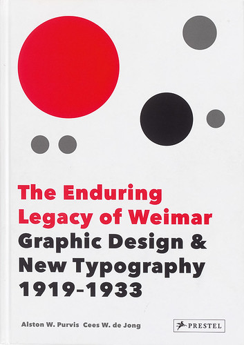 Cover of The Enduring Legacy of Weimar. Design by Cees W. de Jong and Asher Hazelaar
