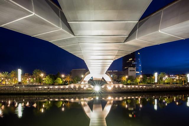 Pasarela Pedro Arrupe Bridge / Bilbao 2019