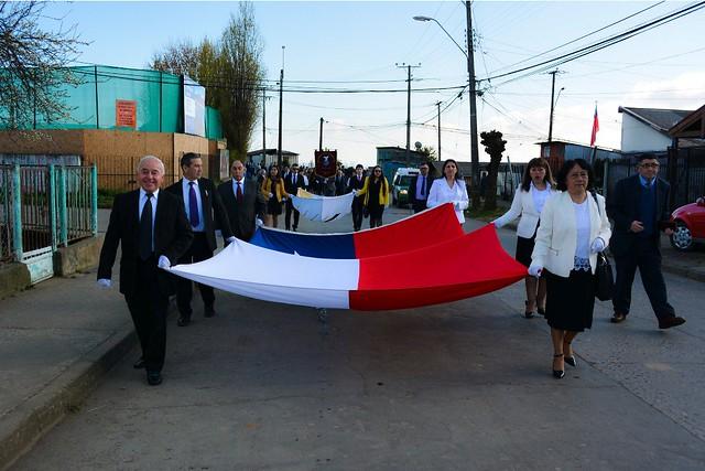 Desfile Fiestas Patrias IMPCH Lota
