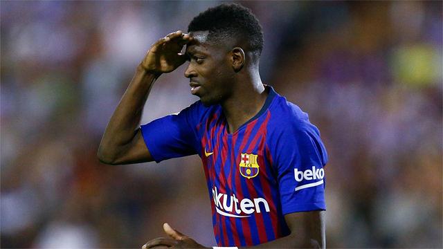 Manchester United Line Up Barcelona's Ousmane Dembele For January Transfer