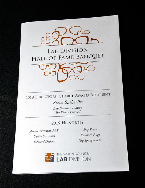 2019 Lab Division Hall of Fame Banquet