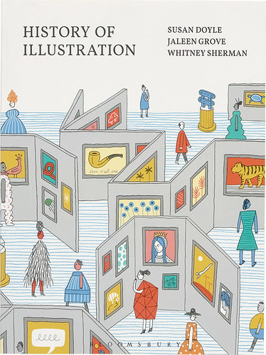 Cover of History of Illustration. Cover design by Brian Rea and Pablo Delcan.
