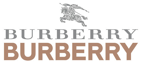 The equestrian knight first appeared on Burberry clothing in 1901 before Thomas Burberry registered it as part of the logo in 1909. Peter Saville dropped both the knight and the serif when  he redesigned the brand's marque in 2018.