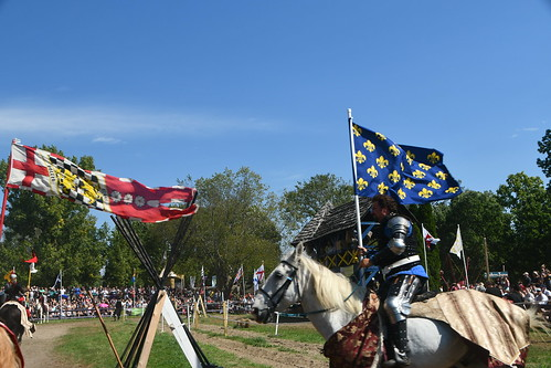 Jousting! From Huzzah! Why You Need to Visit the Michigan Renaissance Festival