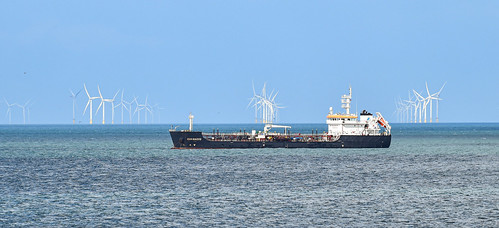 The Sanbacco off of Palm Bay, Cliftonville, North Kent.