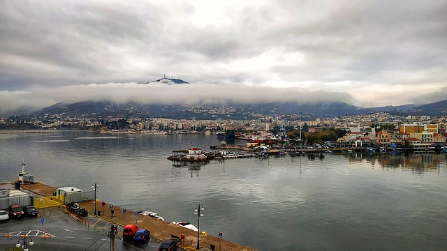 the view from my office...Mytilene's port view