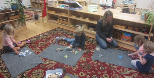 puzzles and GO FISH