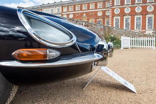 Concours of Elegance 2019, Hampton Court - Jaguar E-Type