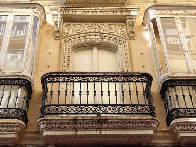 Cadiz - beautiful balconies