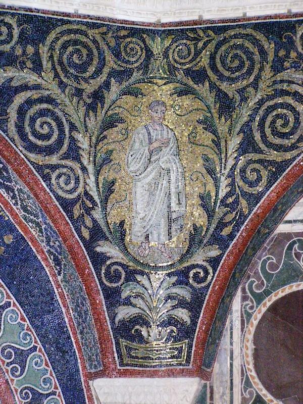 31 Баптистерий православных. Мозаика.