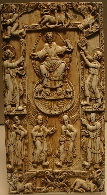 69 Majestas Domini. 1060г.  Испания. Кастилия и Леон.