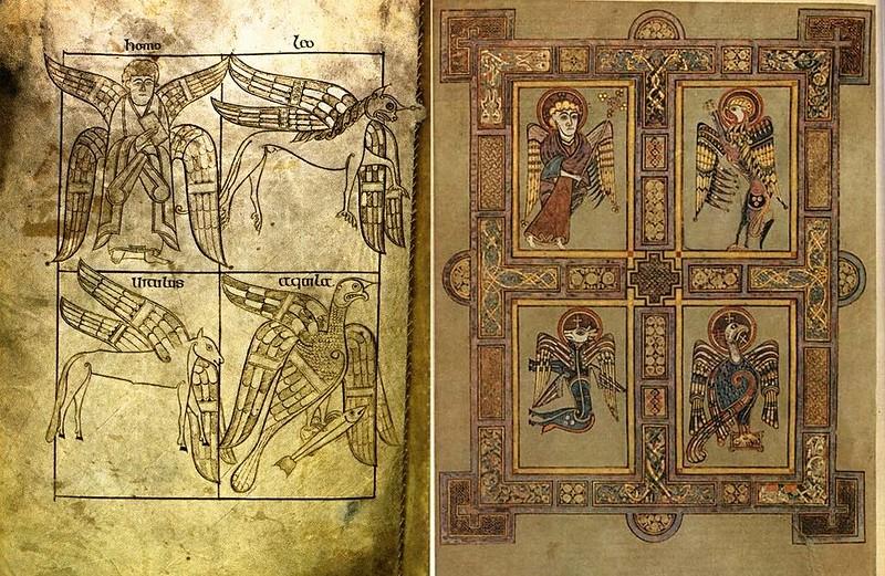 89 Евангелисты Келлская книга