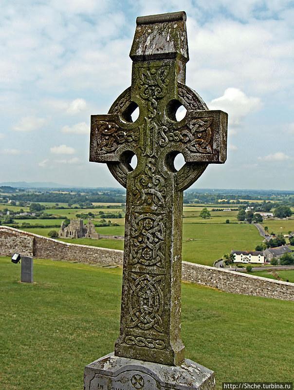 93 Кельтский крест в замке Rock of Cashel VII-VIII вв Ирландия