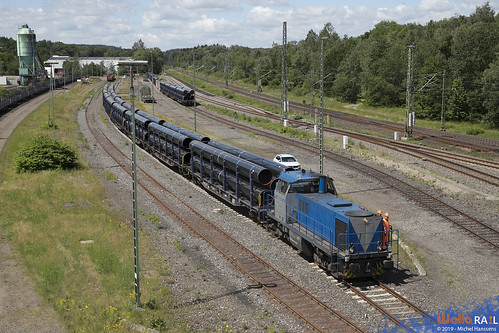 V107 . 209 007 . RTB Cargo . Stolberg ( Rheinland ) 21.06.19.