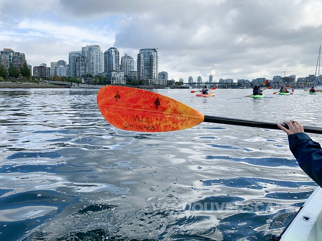 On False Creek with Vancouver Water Adventures