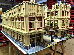 33_Train Station Building 1  and 2 details process
