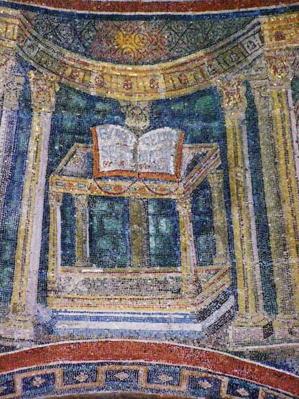 32 Баптистерий православных. Этимасия Мозаика.