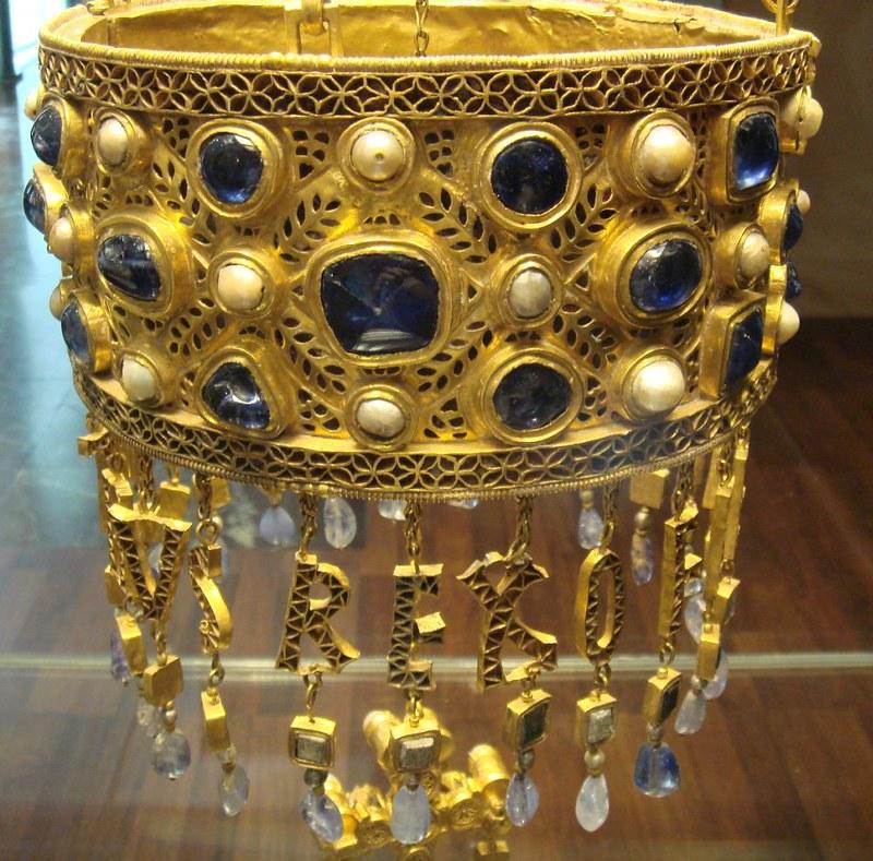 48 Вотивная корона  короля Реккесвинта. VIIв